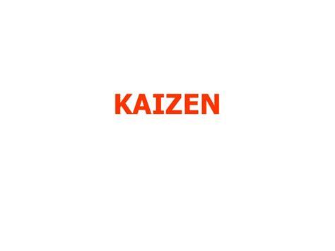 Toyota Kaizen Kaizen