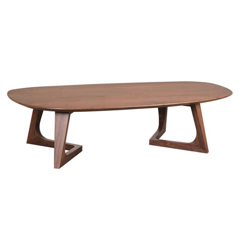 godenza coffee table in solid walnut simply furniture