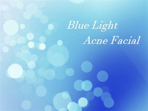 blue light for acne acne with blue light shizuka york day spa