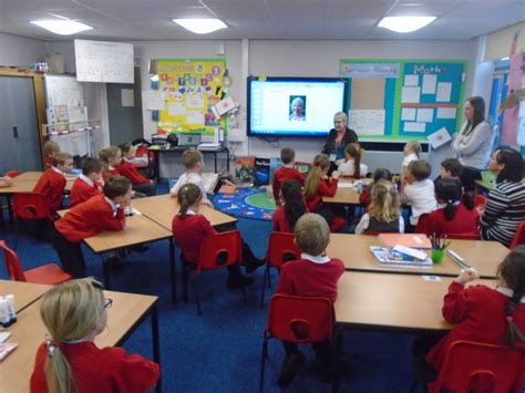 stanion c of e primary school year 1 and 2 classroom stanion c of e primary school julia jarman visit