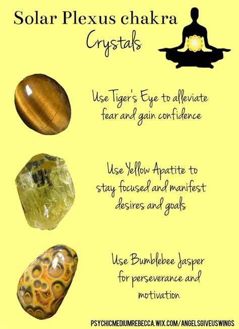 solar plexus crystals best 25 solar plexus chakra ideas on