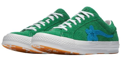 Sneakers Converse One X Golf Le Fleur Green Bnib golf le fleur x converse one quot jolly green quot available now kicks