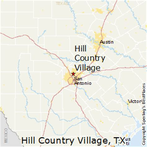 best places to live in hill country