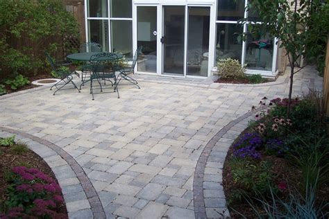 Designs For Backyard Patios Brick Patios Designs