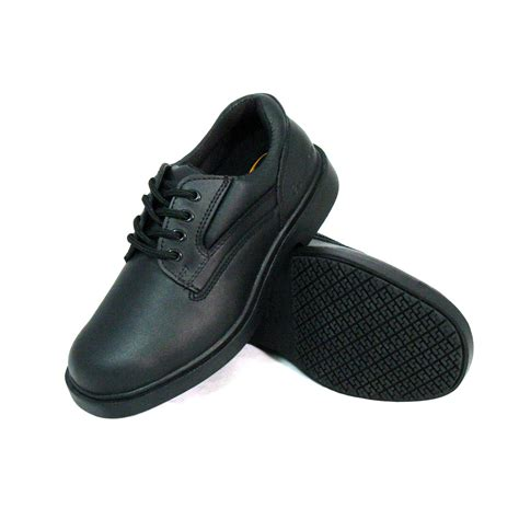 genuine grip slip resistant work shoes 720 black