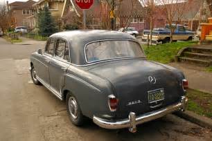 1958 Mercedes 220s Parked Cars 1958 Mercedes 220s