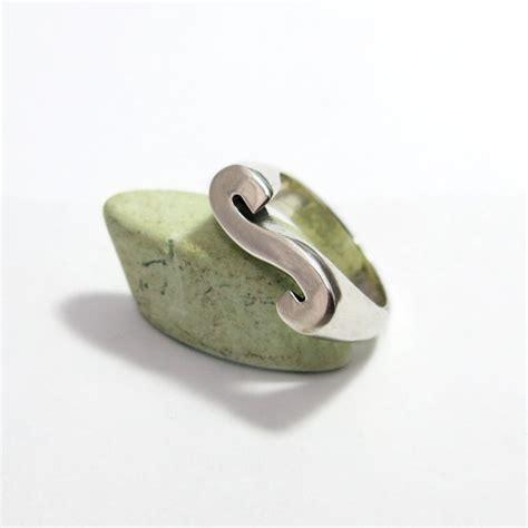 Letter Ring Initial Ring Letter S Ring Alphabet Letter Initial Ring