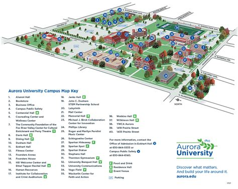 college map cus map