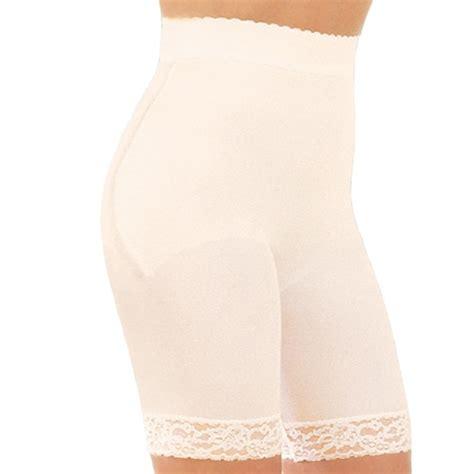 rago high waist long leg pantie girdles high waist long leg panty girdles