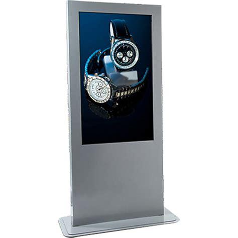 Gift Card Return Kiosk - peerless av portrait indoor digital signage kiosk kp555 s b h