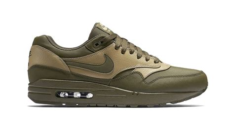 Nike Air 1 Etc nike air max 1 leather premium quot loden quot sneakers