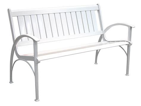 white aluminum outdoor furniture patio furniture bench contemporary cast aluminum white
