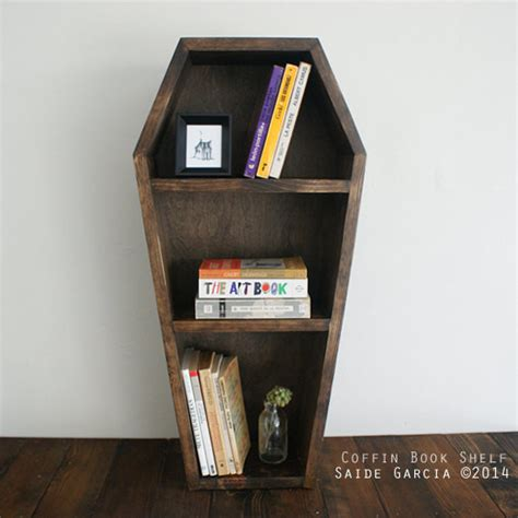 coffin bookshelf by black willow gallery eclectic