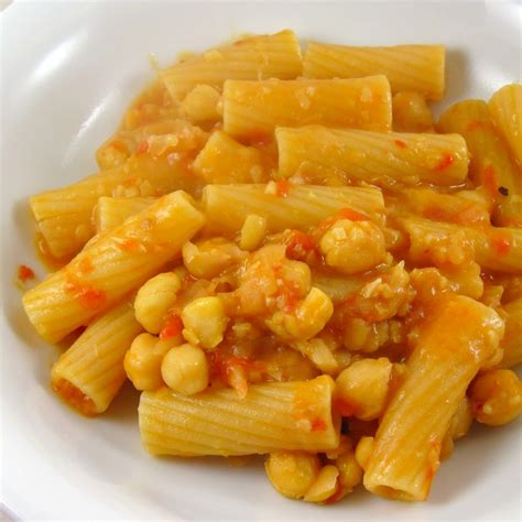 Salad Pasta pasta e fagioli or pasta e ceci in the kitchen with kath