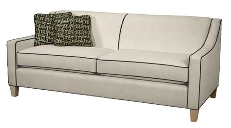 white sofa black piping infosofa co
