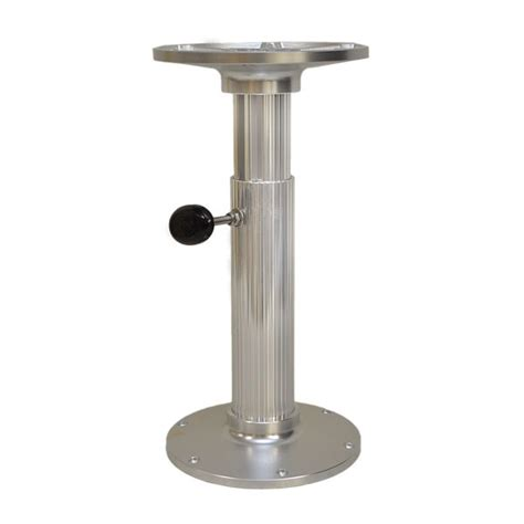 Carver 75325 38 Manaual 14 28 Boat Adjustable Table Boat Table Pedestal