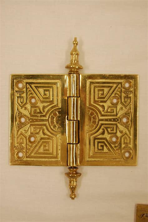 Brass Door Hinges by Set Of Six Solid Brass Door Hinges Circa 1876 At 1stdibs