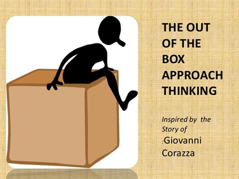 Out Of The by Out Of The Box Thinking