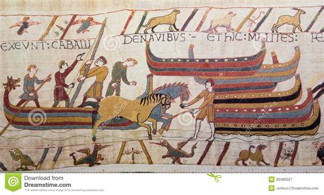 tappezzeria di bayeux bayeux tapestry royalty free stock photography image