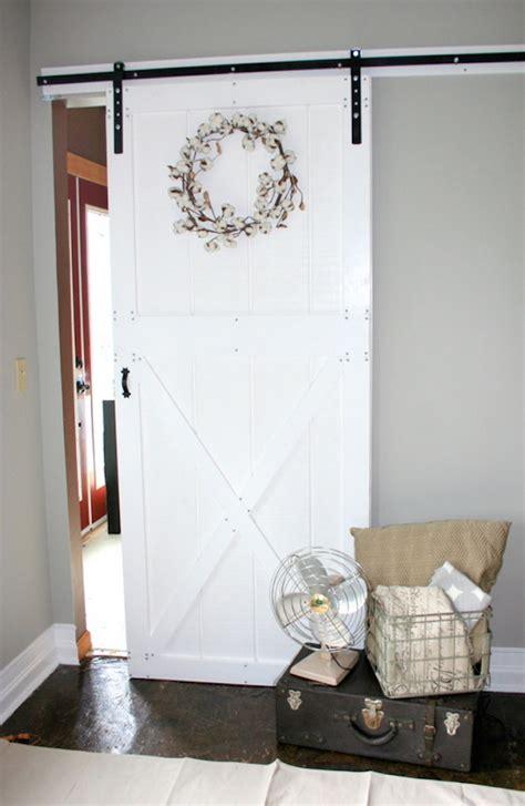 Ana White Diy Barn Door And Hardware For Around 80 Diy Sliding Doors Interior