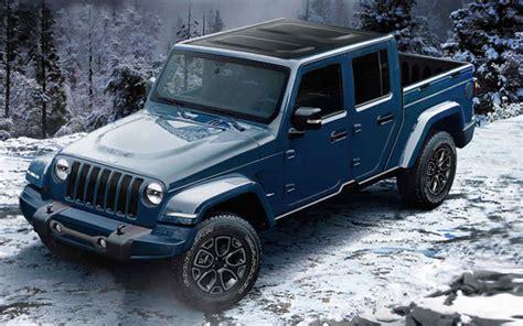 jeep wrangler pickup concept 2019 jeep wrangler pickup truck release date specs price