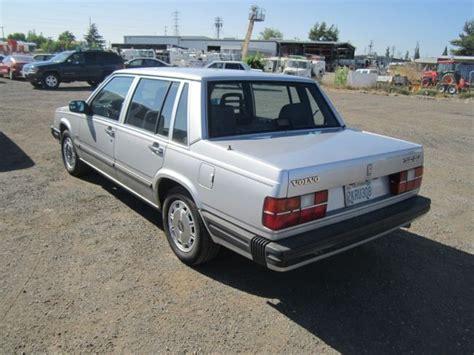 volvo 740 sedan 1988 volvo 740 gle sedan