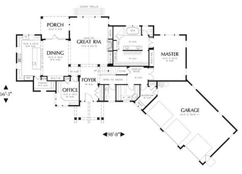 House Plans With Angled Garage by House Floor Plans With Angled Garage Home
