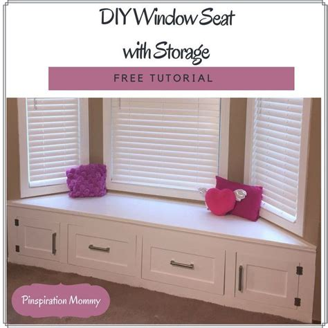 Diy Built In Drawers by Diy Built In Window Seat With Drawer And Cabinet Storage