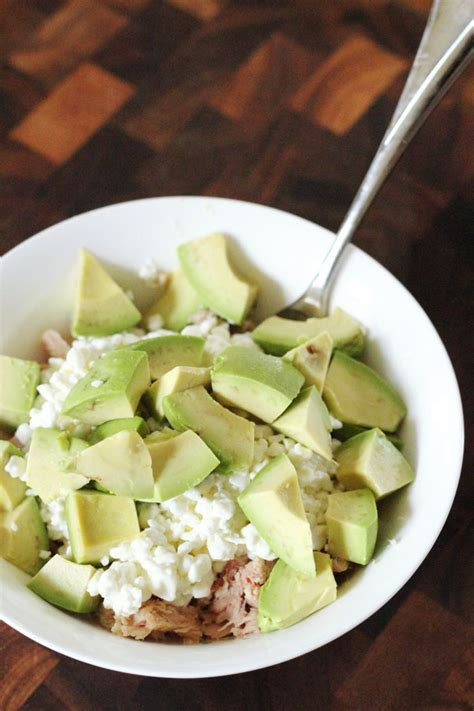 Cottage Cheese Salad Diet by 10 Minute Lunches Tuna Cottage Cheese Clean
