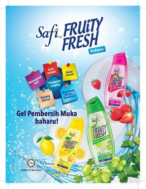 Pembersih Muka Gatsby safi fruity fresh pencuci wajah untuk gadis berumur 12