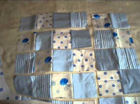 decke nähen einfach patchworkdecke babydecke n 228 hen teil 1 2 patchworkowa