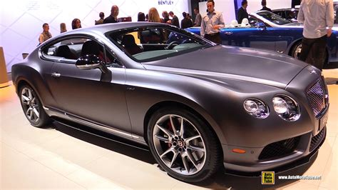 2015 bentley continental interior 2015 bentley continental gt v8s exterior and interior