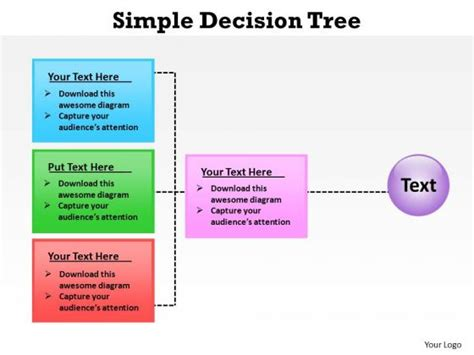 decision process template digitally powerpoint templates slides and graphics