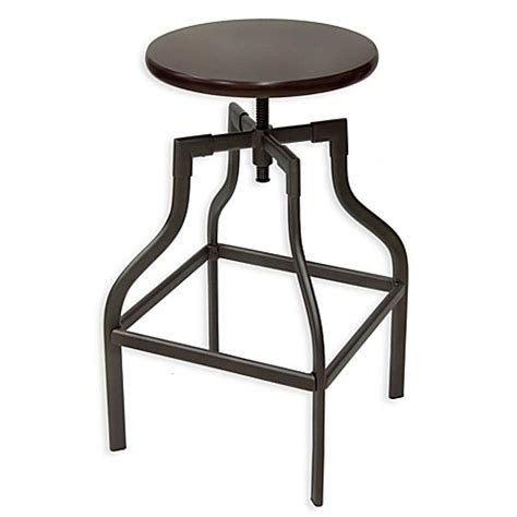 Adjustable Bar Stools Bed Bath And Beyond by Ersand 174 Saxon Adjustable Swivel Stool Bed Bath Beyond