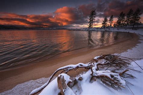 snowy beach by etherealsceneries on deviantart