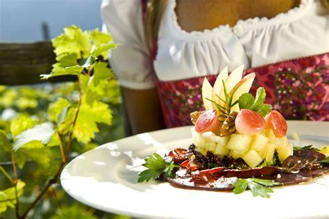 cuisine f騅rier helmuth rier pension ultenerhof algund restaurant gourmet