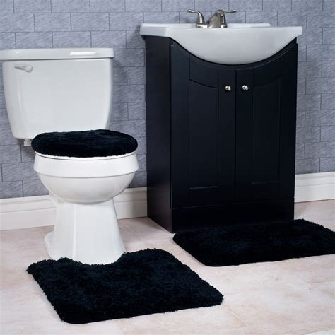 black bath rug set lovely black bathroom rug set maverick mustang maverick mustang