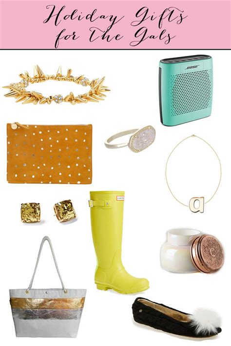 gift guide week gifts for the gals fancy ashley