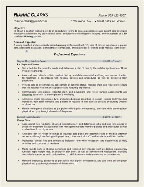 resume nurse template new nurse resume templates resume nurse