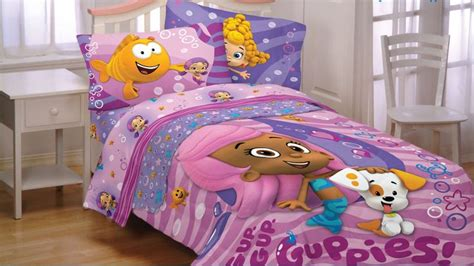 bubble guppies toddler bed set bubble guppies fun twin bedding set 4pc molly bubble