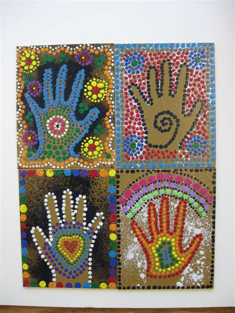 aboriginal craft for aboriginal projects on dot painting