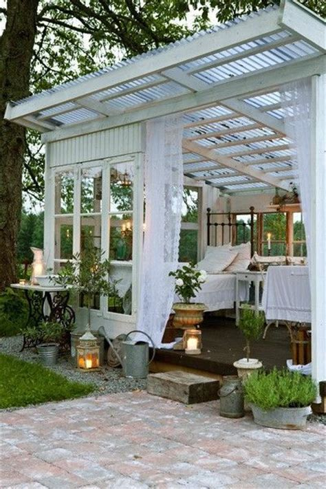 backyard sunroom a detached bedroom or sunroom or greenhouse so perfect for my backyard juxtapost