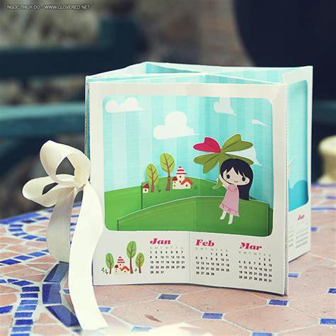 pop design uk calendar 2012 pop up calendar on behance