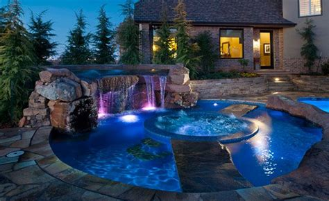 enchanting swimming pool lights home design lover