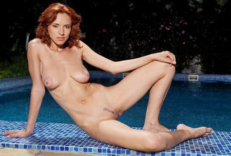 Wallpaper Leka C Redhead Full Frontal Nude Breasts Boobs Big Tits Natural Tits Big