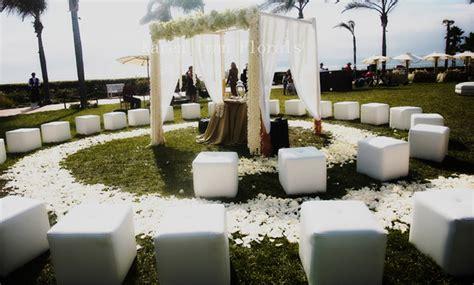 ceremony set ups belle  magazine