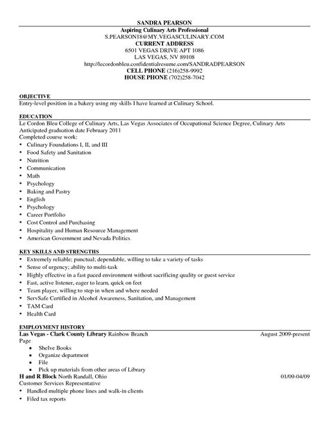 sle resume of chef 42 exles of chef resume template vntask