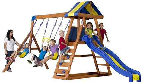 swing sets under 100 best wooden playsets for kids gt gt choose from small or big