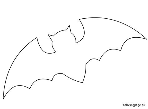 bat template related coloring pageshalloween pumpkinhalloween pumpkin