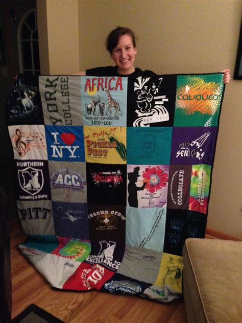 How To Make A Shirt Quilt by How To Make A T Shirt Quilt Easy Clear